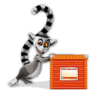 Diego mit Wunschbox